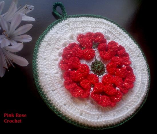 ... natal fiz com o ponto flor a doro fazer este lindo ponto de crochê