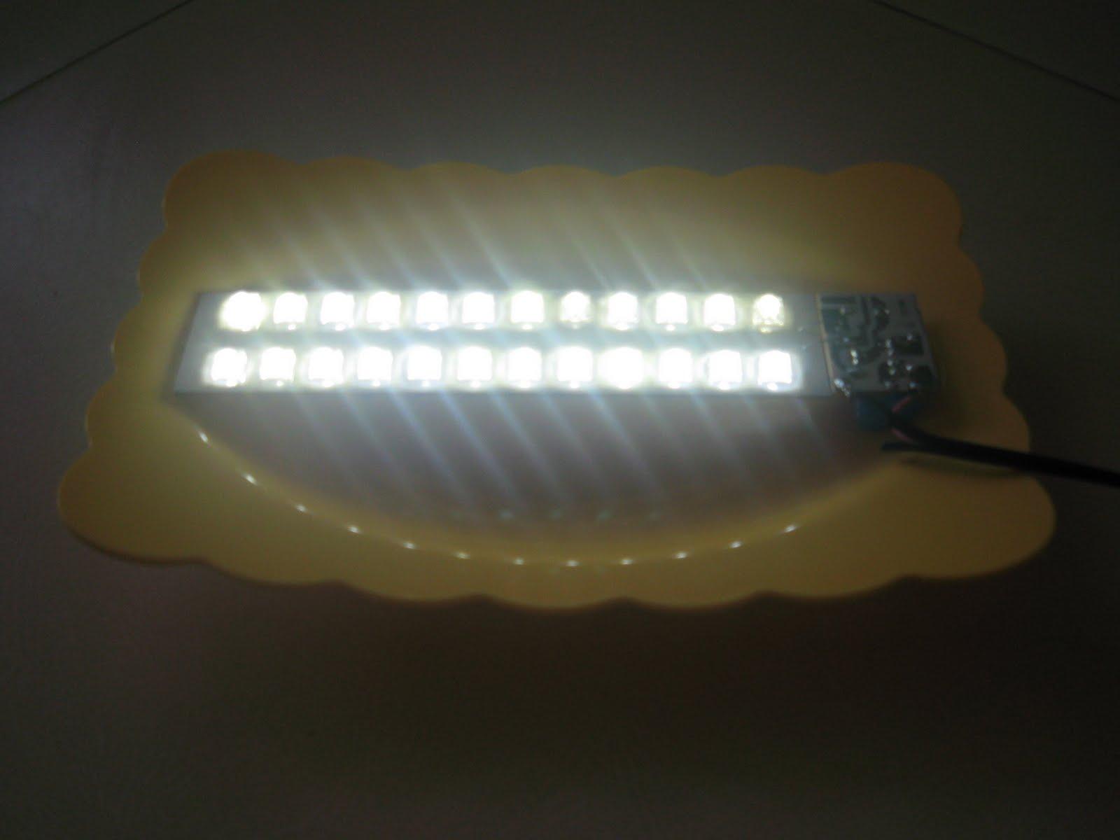 Ini adalah versi modifikasi dari rangkaian,Super terang LED Malam ...