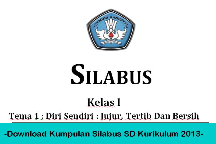 Download Kumpulan Silabus Sd Kurikulum 2013 Berkas Sekolah Berkas Sekolah