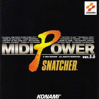 Konami Kukeiha Club: MIDI POWER ver. 5.0 SNATCHER