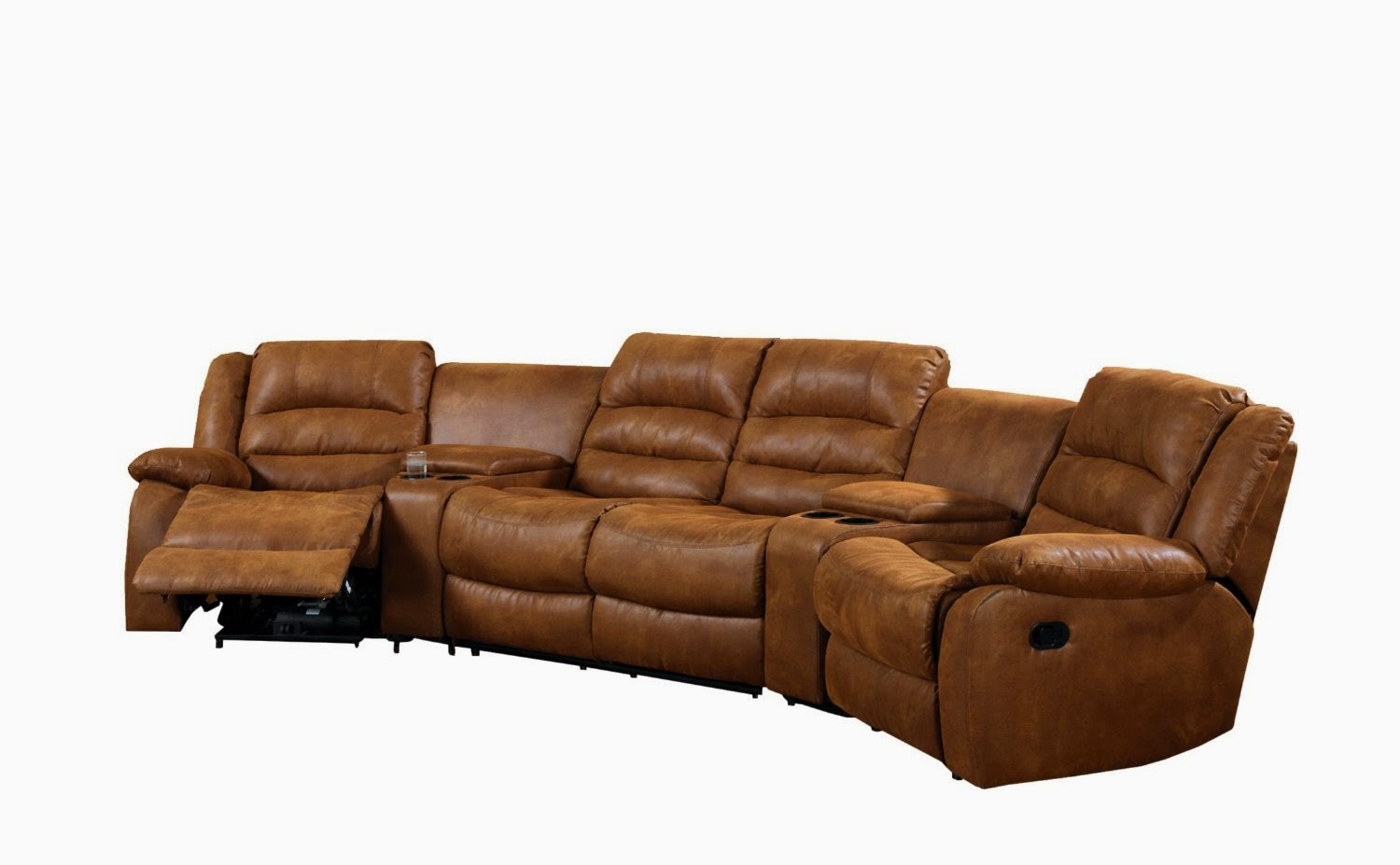 Beau Reclining Sofa Sets With Cup Holders