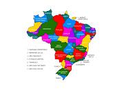 Veja quais serão as novas áreas e os Estados divididos em caso de aprovação . (mapa do novo brasil)