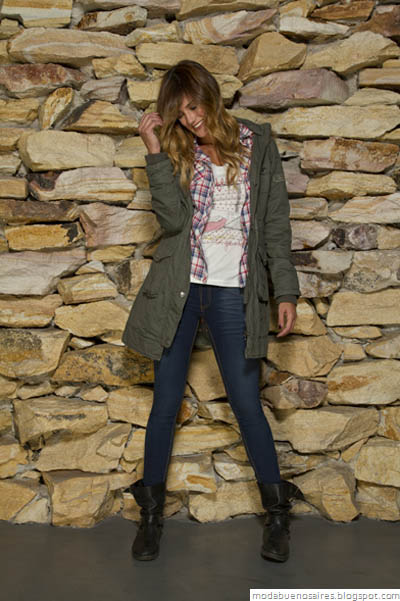 Vov Jeans Moda otoño invierno 2012.Camperas invierno 2012.