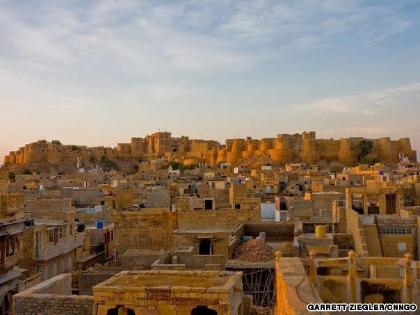 Jaisalmer, the giant sand castle