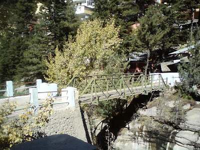 The beautiful bridge across which is located the Surya Kund
