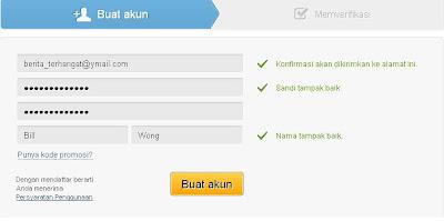 cara mendaftarkan akun di 4shared.com