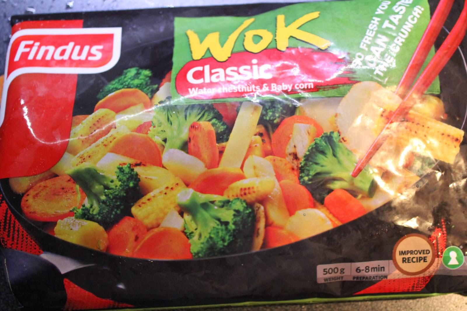 frysta grönsaker recept