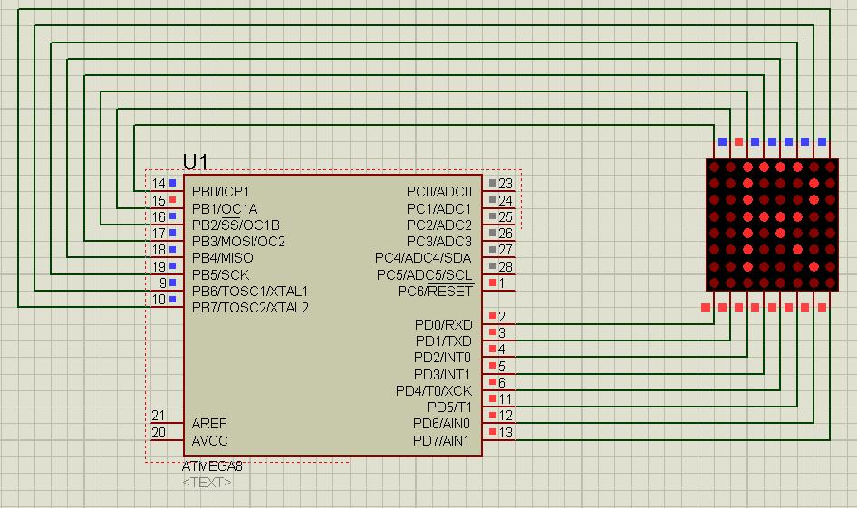 LED Matrix - Thaieasyelec