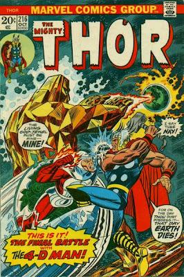 Thor #216, Mercurio