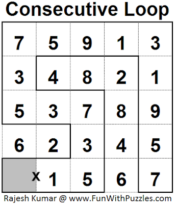 Consecutive Loop (Mini Puzzles Series #26)