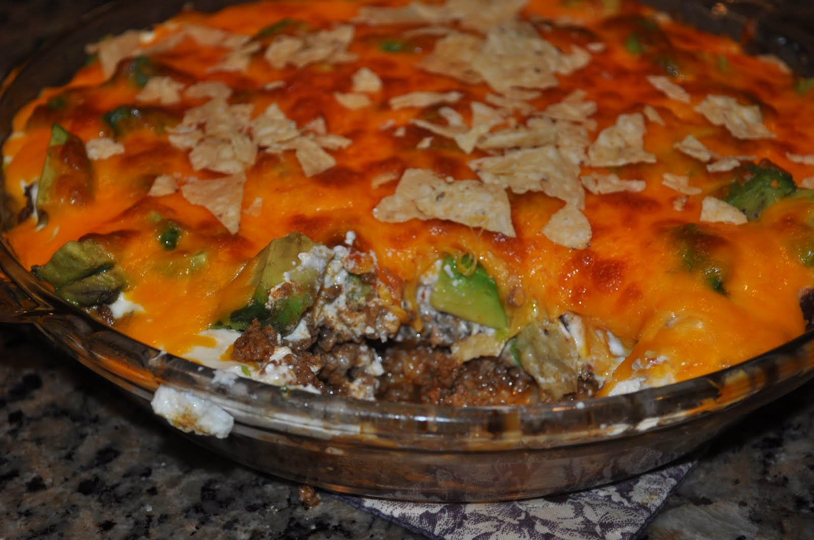 Beth's Favorite Recipes: Five Layer Taco Dip