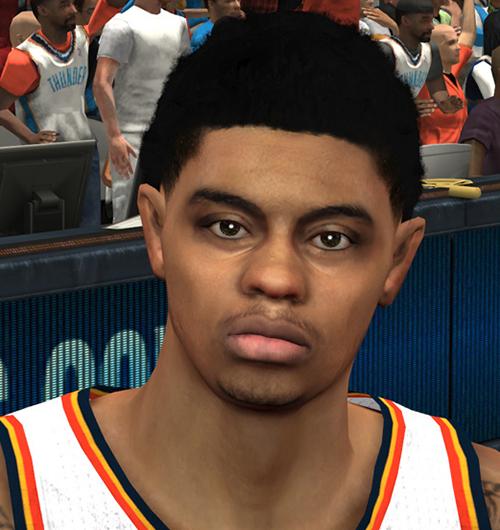 NBA 2K14 Jeremy Lamb Face Mod