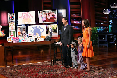 RuffleButts and RuggedButts Face Off with Shark Tank Entreprenuers