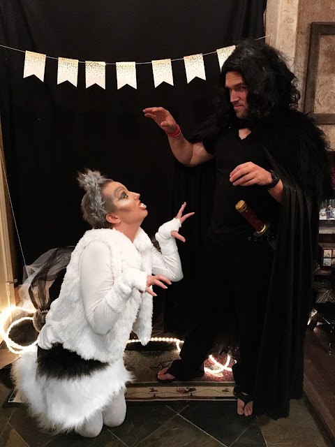 Jon Snow and Ghost Costumes
