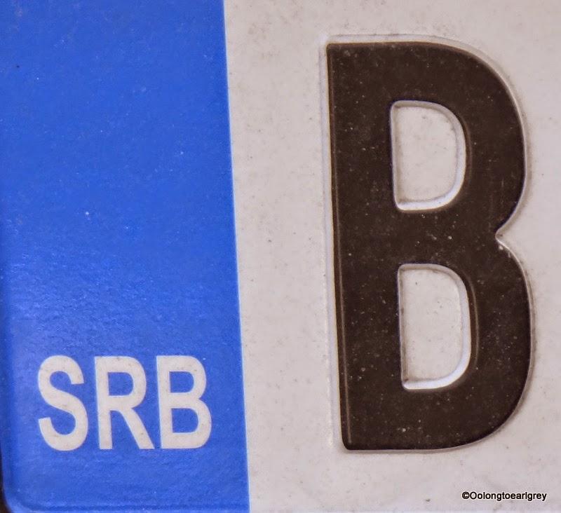 European Numberplate: Serbia