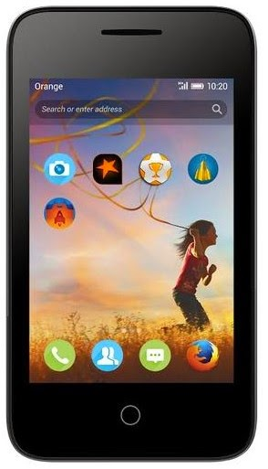 Orange Klif Firefox Phone