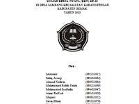 Contoh Lengkap Laporan Kuliah Kerja Nyata (KKN) untuk STAIN, IAIN dan UIN