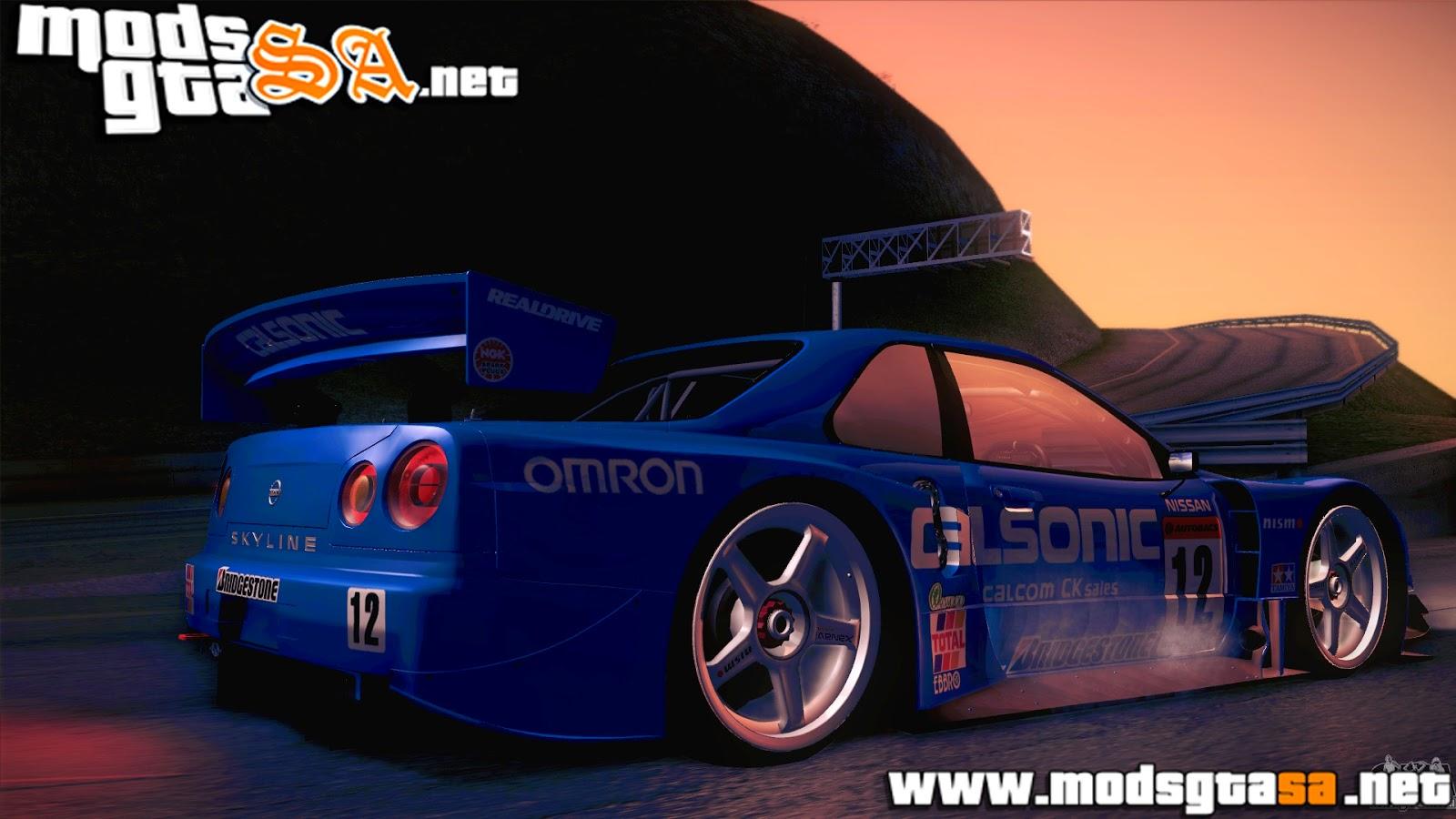 SA - Nissan Skyline GTR-34 2003
