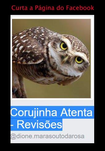 Curta a página Corujinha Atenta - Revisões