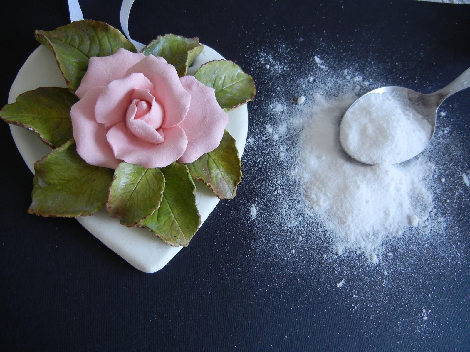 Цветы из холодного фарфора своими руками. Лепка розы 67