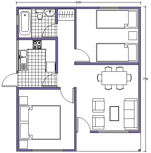 Casas prefabricadas buin en chile casas prefabricadas for Ver planos de casas de una planta