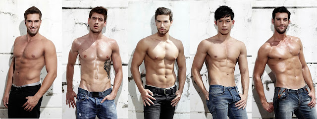 Mr. International 2012 Top 5: Brazil, Slovenia, Lebanon, Singapore, Slovak Republic