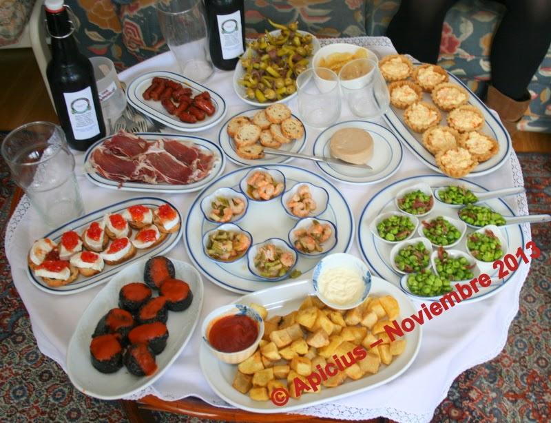 La cocina de cada d a 1311 men aperitivo alcachofas y - Aperitivos con bacalao ...