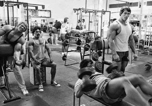 PUMPING IRON: SELF-BELIEF AND ASSERTION