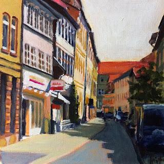 Lange Geismarstrasse, Göttingen by Liza Hirst