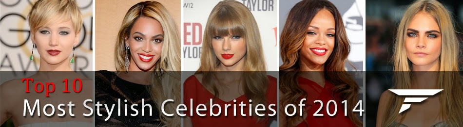 Top 10 Most Stylish Celebrities 2014, music stars, new hollywood stars, lupita nyong'o, emma stone, amy adams, olivia wilde, jennifer lopez, taylor swift, jennifer lawrence, Rihanna, Cate Blanchett, hot entertainment news, e hollywood