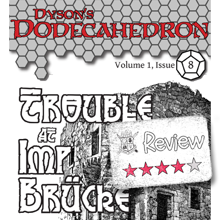 Frugal GM Review: Dyson's Dodecahedron 8