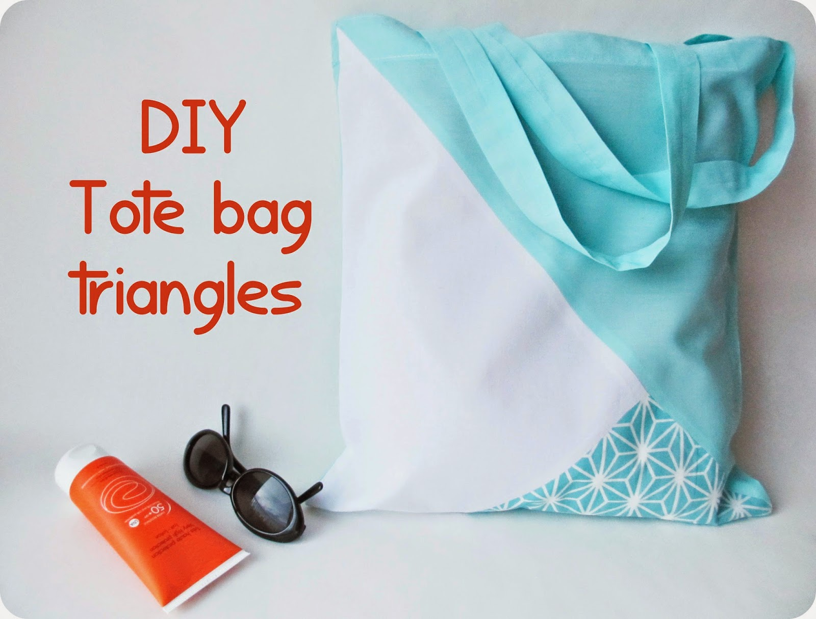 Top Tadaam !: DIY / Tuto : Tote bag triangles QF06
