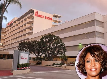Beverly Hilton, Whitney Houston