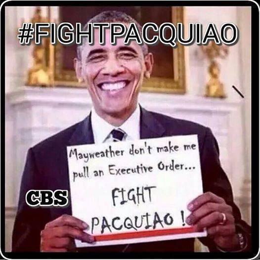 obama orders floyd to fight manny