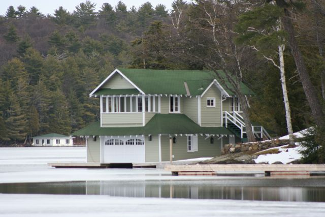 Cottage Country Reflections Boathouse Or Aerodrome