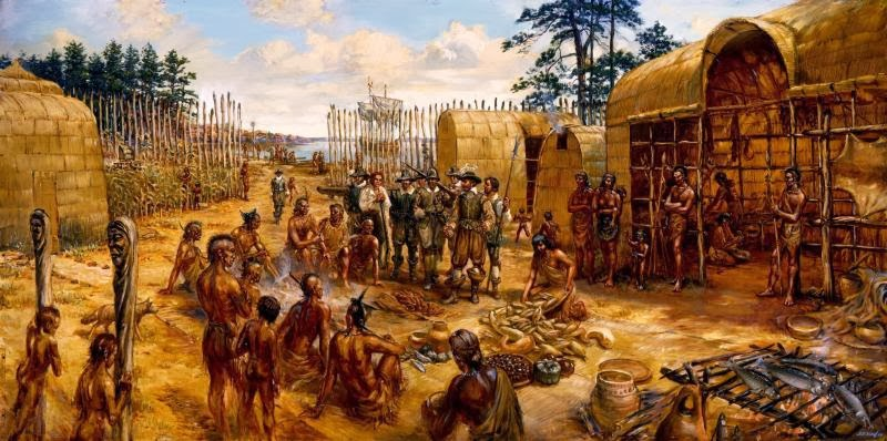 indian lives changed by jamestown settlers essay