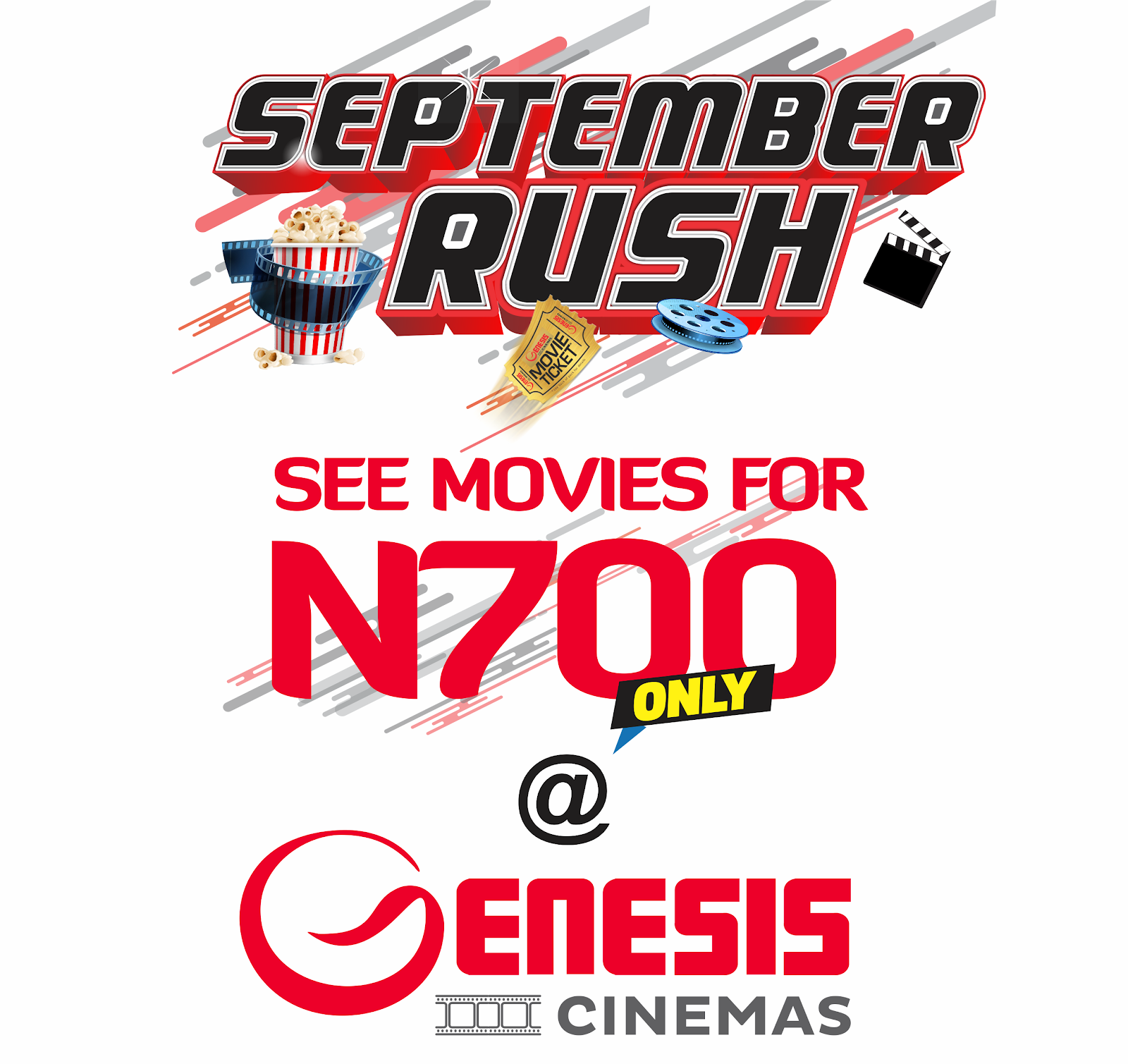 SEPTEMBER RUSH AT GENESIS CINEMAS