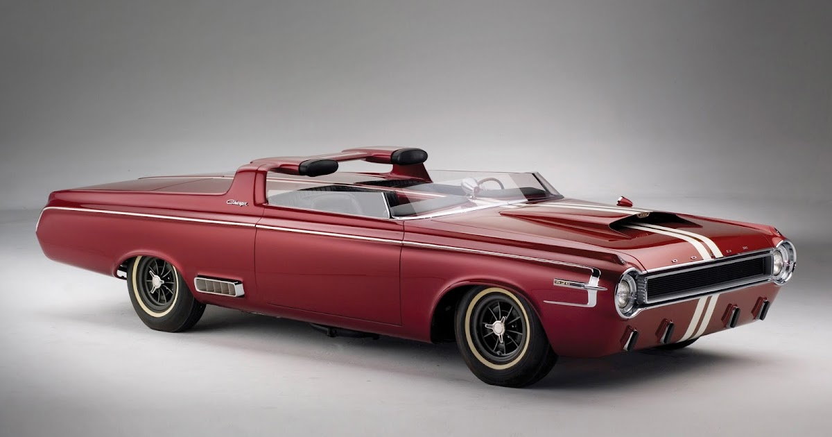 FAB WHEELS DIGEST (F.W.D.): 1964 Dodge Charger Roadster ...