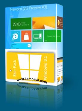 Windows 8.1 SkinPack 2014 For Windows 7
