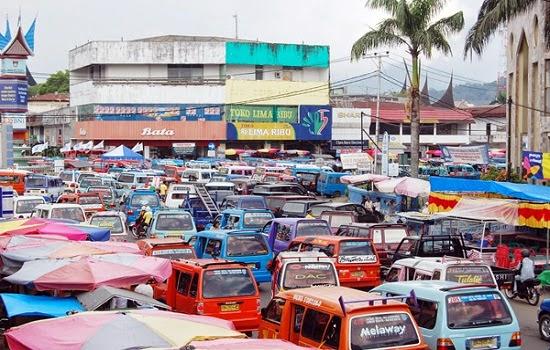 BBM Naik, Tarif Angkutan Umum di Kota Padang Naik Rp. 1000