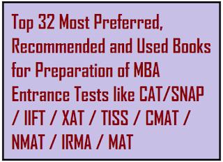 mba entrance preparation books pdf