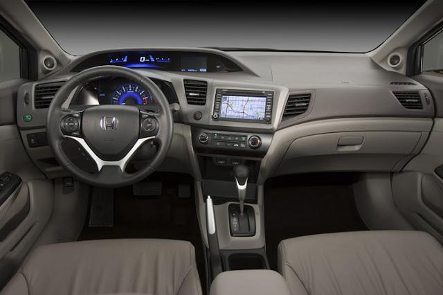 Novo Honda Civic 2012 EX-L Sedan - Painel