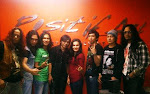 Bersama Red Spider at Positif Art Management Office