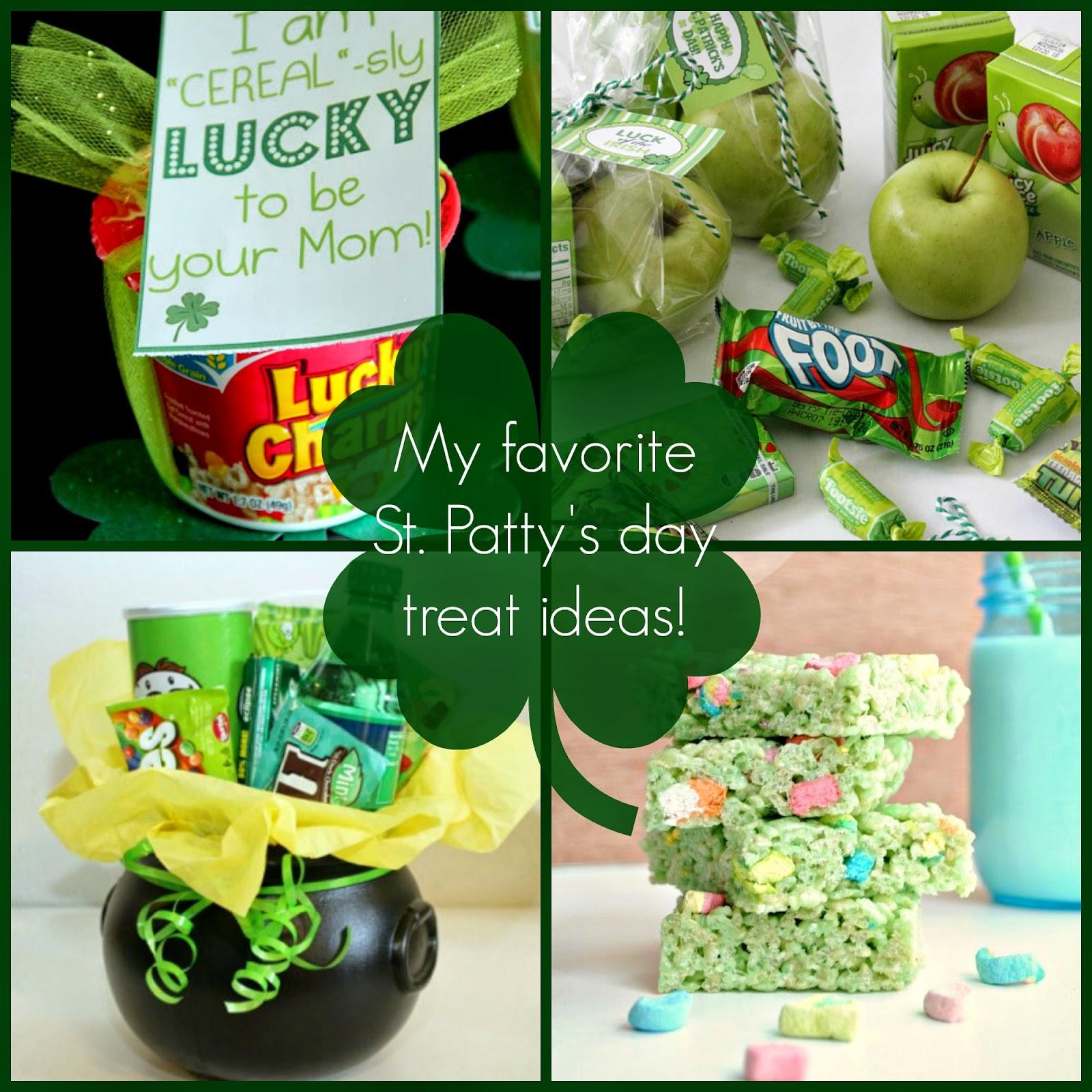 St Patrick's Day treat ideas