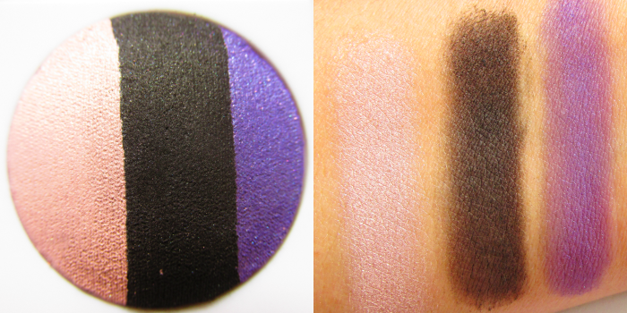 Review & Swatches: Mary Kay at Play - Baked Eye Trio - Purple Eclipse
