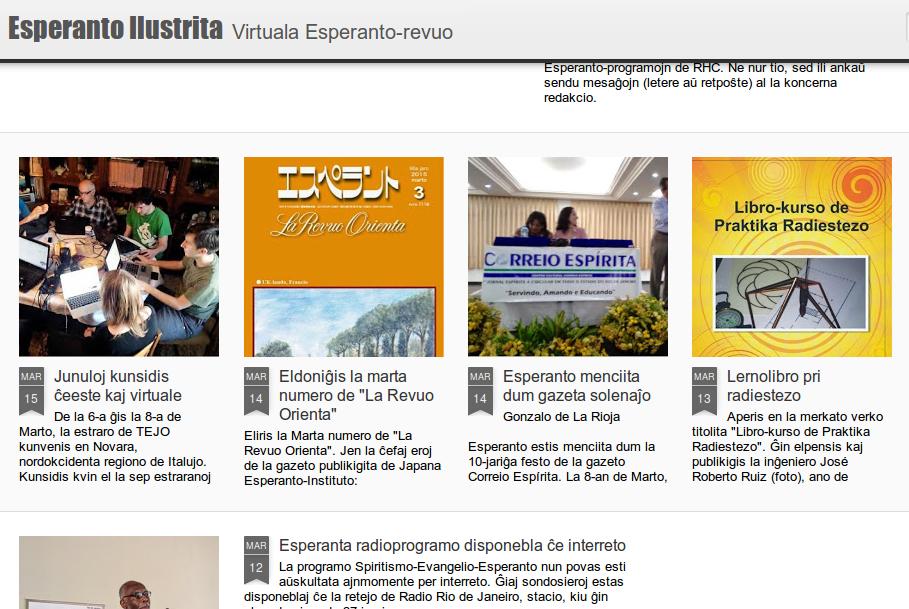 Web de Esperanto Ilustrita