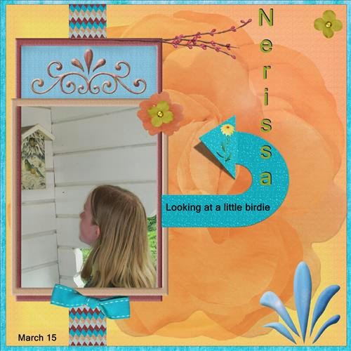5t page - Looking at a birdie