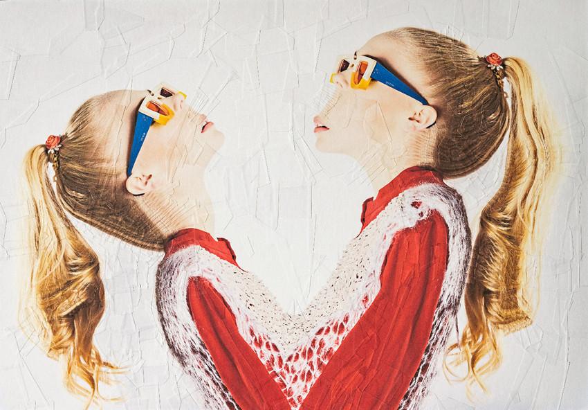 © Lola Dupre (collage) & Lisa Carletta (Fotografía)   PIECES (for Eye Republic Magazine)