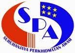 Jawatan Kerja Kosong Suruhanjaya Perkhidmatan Awam (SPA) logo