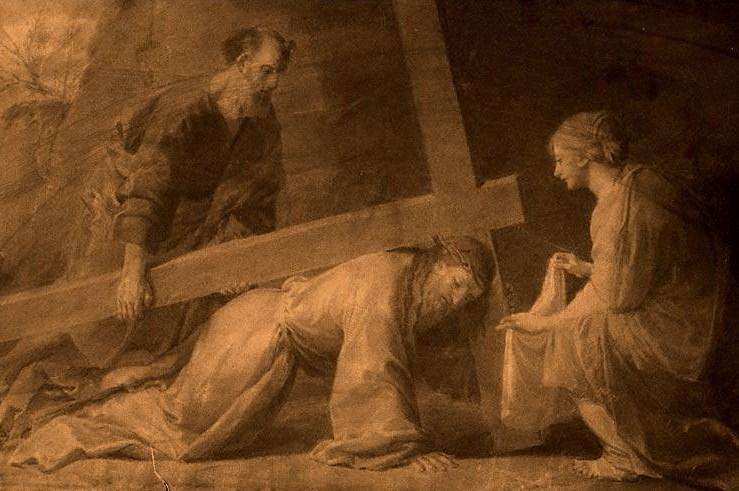 Fr. Tilmann Pesch S.J. (1836-99) Christ+and+Veronica